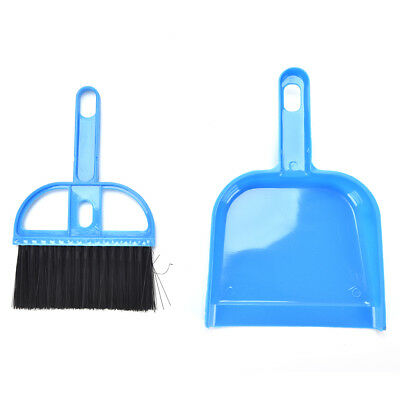 Small Whisk Type Broom Set Dust Pan Dustpan & Brush For Cleaning Tool Outdoor ~