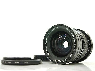 SMC Pentax 6x7 67 Shift F4.5 75mm Lens In Excellent Condition From Japan