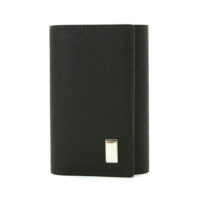 dunhill Sidecar Key Case 6Hook Darkbrown Leather FP5020E 90052344