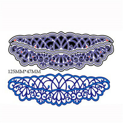 5pcs Hollow Lace Metal Cutting Die For DIY Scrapbooking Album Paper Card nFJ