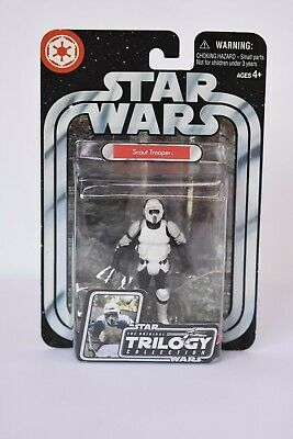 Star Wars 'Scout Trooper' Action Figure Trilogy Collection. NEW.
