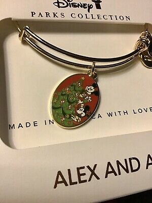 2019 Disney Parks Mickey's Very Merry Christmas Party Alex & Ani Bangle