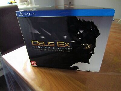 Deus Ex Mankind Divided Collector's Edition, PS4 - Brand New & Sealed