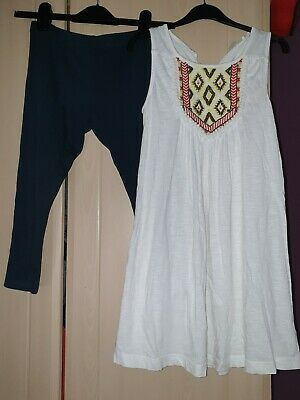girls two piece outfit from next age 10 years