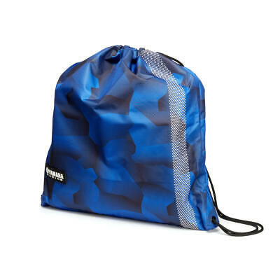 Official Yamaha Racing Blue Camo Motorbike Scooter Helmet Bag