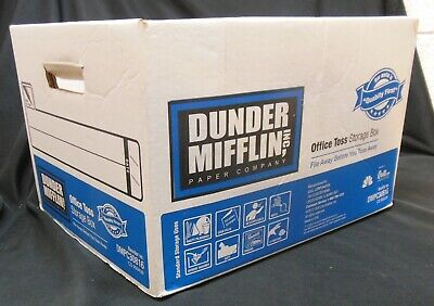 Empty Dunder Mifflin Paper Box from The Office TV Show