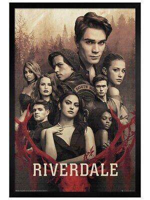 Riverdale Maxi Poster Black Wooden Framed Season 3 61 x 91.5cm
