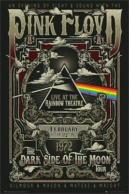 Pink Floyd Poster Rainbow Theatre 61x91.5cm