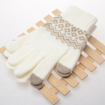 1pc Touch Screen Women Winter Gloves Fashion Kids Warm Gloves knit Mittens