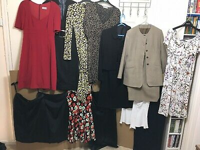 ladies clothes bundle size 10-12 Inc Hobbs, Laura Ashley, Starr, Warehouse, Next