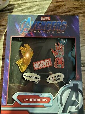 Avengers Endgame Loungefly Funko Pins Nycc 1000 Pieces Marvel Disney Comic Con