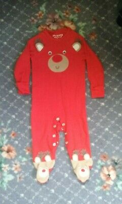 Christmas baby grow  by F & F(size 3-6 months )