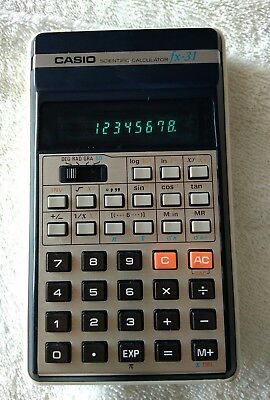 CASIO  FX-31 VINTAGE  Calculadora científica Año / year 1978 Vintage Calculator