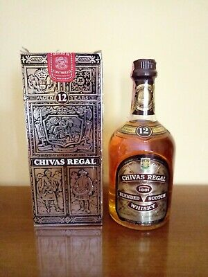 CHIVAS REGAL Blended Scotch Whisky - aged 12 years - 0,75 lt - 43% vol.