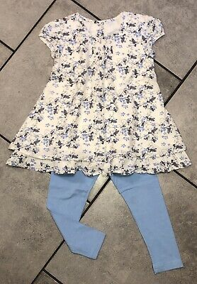 Matalan...primark Girls Tunic Outfit 4-5 Y Floral