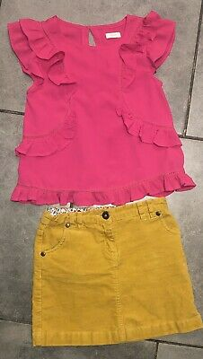 Next...John Lewis Girls Corduroy Skirt Outfit 7-8 Y (for 122cm/7y) VGC