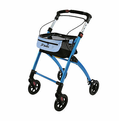 Jaguar indoor Rollator Disability aid / Walker Blue