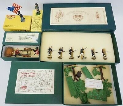 LOT OF 5- ALYMER SETS - toy soldiers - CARRIAGE, NAPOLEON, FRENCH FOREIGN LEGION