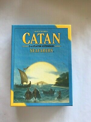 Settlers of Catan Seafarers Extension and also 5-6 Players Extension (2 boxes)
