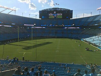 Two (2) Carolina Panthers vs New Orleans Saints (Lower Level) Section 228