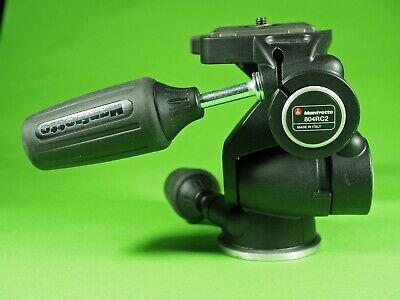 Manfrotto 804RC2 3 way tripod head in excellent condition! Free shipping!