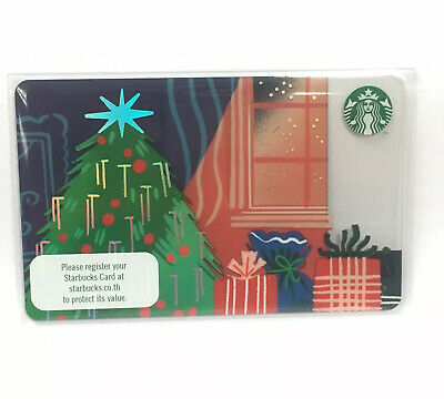 Starbucks Card Christmas 2019 Thailand Collection PIN intact with Sleeve