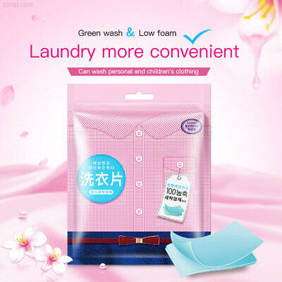 20 PCS Washing Powder Soap Laundry Tablets Hand Guard Deep Cleaning Skin Care