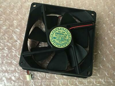 YATE LOON 40x10mm 2-Wire 12v DC 0.08a Fan D40SM-12A 2-Pin Server Square Fan