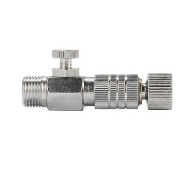"""1/8"""" Plug Coupling Disconnect Coupler Airbrush Replacement Quick Release Adapter"""