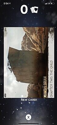 TOPPS SWCT The Mandalorian Chapter One - Card #5 **Grey**
