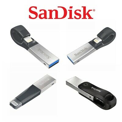 SanDisk iXpand Flash Drive Mini iXpand Go USB 3.0 32G 64G 128G 256G 16G iPhone
