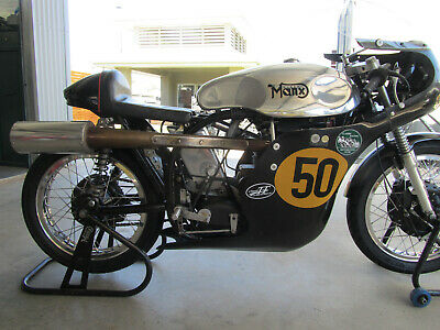 Molnar 500 Manx Norton racing motorcycle