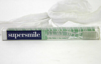 Supersmile Ergonomic Toothbrush Dr Smigel Clear Teeth Whitening Clean Shiny NIP