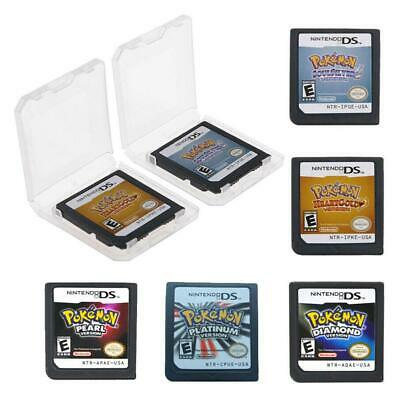 5-Style Game Cartridge Card for Pokemon Nintendo 3DS NDSI NDS NDDs NDSXL NDSL