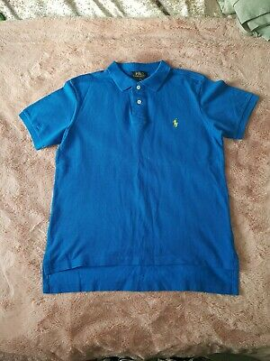 Boys Ralph Lauren polo T Shirt Age 15-16. Limited Edition * WORN ONCE *