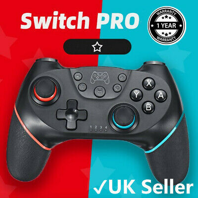 Bluetooth Wireless Gamepad Joystick Pro Controller For Nintendo Switch Gift UK