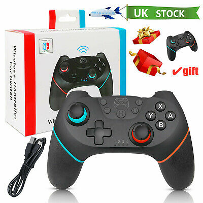 Bluetooth Wireless Gamepad Joystick Pro Controller for Nintendo Switch Xmas Gift