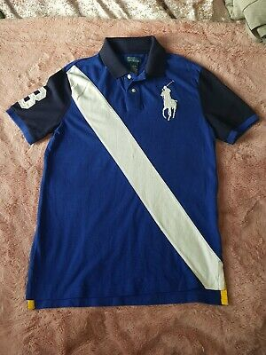 Boys Ralph Lauren polo T Shirt Age 14-15. Limited Edition * WORN ONCE *