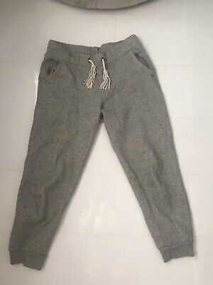 Girls Grey Jogging Bottoms Age 9-10 M & S
