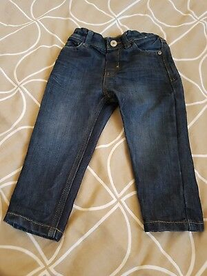 Boys jeans age 1.5-2 years, worn twice only, bought from primark