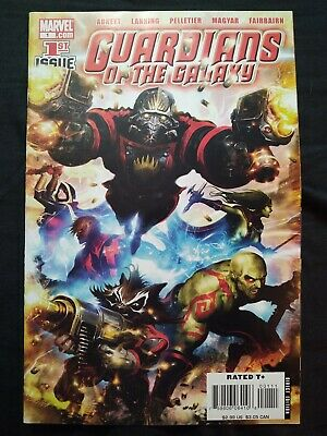 Guardians of the Galaxy 1 #1 M/NM (July 2008, Marvel) key book GOTG Marvel