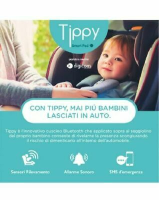 SmartPad Tippy Dispositivo Anti Abbandono Digicom 8E4610 conforme normative
