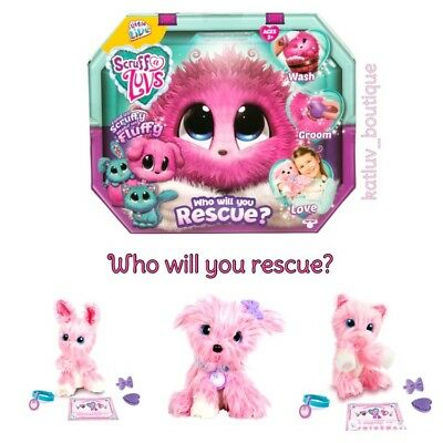 Scruff A Luvs Rescue PINK Pet by Little Live Pets, Who Will You Rescue? HOT TOY!