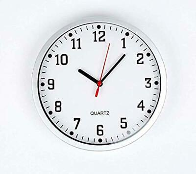 REAL ACCESSORIES Large Stylish Modern Wall Clock | Ideal for School Office Home