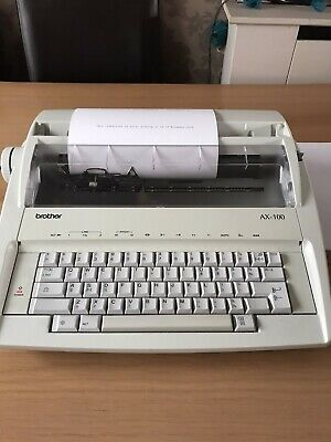 Brother AX-100 Electric Typewriter fully Working