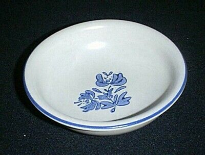 "PFALTZGRAFF Stoneware Pottery ~YORKTOWNE BLUE~ 6"" Cereal, Soup, or Salad Bowl"