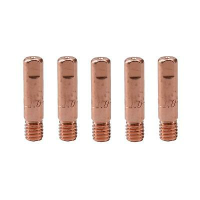 Mig Welding Welder Round Contact Tips for MB15 Euro Torches