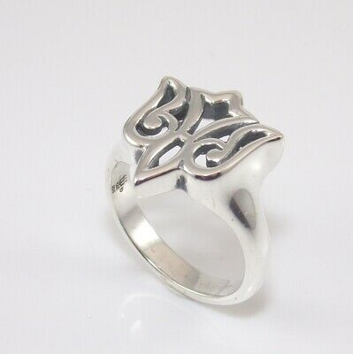 James Avery Retired Sterling Silver Open Dove Ring Size 7.25 SGD