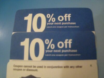 (4X) home depot 10% OFF! exp 10/2020 Lowes coupon ONLY WORKS @ COMPETITOR
