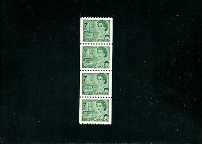 Lot 80060  Mint Nh 549   Coil Strip Of 4 : Canada Centennial Issue